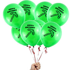 "24 Count Happy Birthday Axe Decoration Supply Game Truck Party 12"" Balloons"
