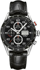 CV2A1R.FC6235 Brand New Tag Heuer Carrera Men's Automatic Chronograph Watch