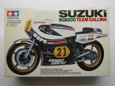 Tamiya Vintage 1:12 Scale Suzuki RGB500 Team Gallina GP Racer Model Kit New 1409