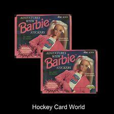 (HCW) 1994 Mattel Diamond Barbie - 6 Sticker Pack x2 (2 Pack Lot - 12 Stickers)