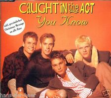 Caught In The Act - You Know ♫ Maxi-Single-CD von 1995 ♫ X-mas Edition ♫