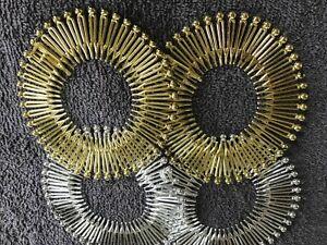 Pack 2 gold or silver flexi hair combs plastic zigzag comb headband flexicomb