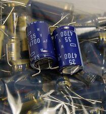 2pcs 4700uf 35v Radial Electrolytic Capacitor JAPAN 35v4700uf Low ESR FOR Audio