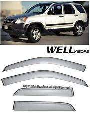 For 02-06 Honda CRV RD4 WellVisors Premium Series Side Window Visors Deflectors