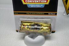 Hot Wheels Batman Batmobile Tv Series Gold Custom Carded Real Rider