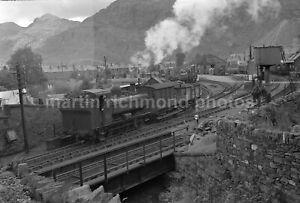 Blaenau Ffestiniog Central 0-6-0PT 4645 Shunting 14.8.58 Railway Negative RN110