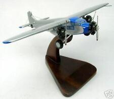 Ford Trimotor Private Airplane Desktop Wood Model Big New