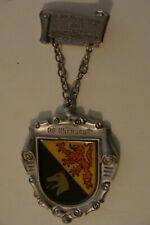 German hiking medal Rhaunen Germany 1984 Wandertag club coat of arms
