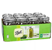 """Ball jar wide mouth lids 150 pc /""""NEW NEVER USED/"""""""