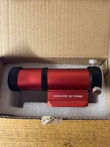 William Optics Red Uniguide 32/120MM Guide Scope - M-G32PB-RD