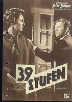 """IFB Illustrierte Film Bühne Nr. 5065 """" 39 Stufen """""""