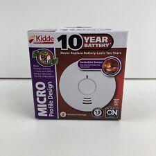 KIDDE 10 Year Battery 1040 MICRO PROFILE IONIZATION SMOKE DETECTOR ALARM SENSOR