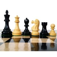"3.9"" Reykjavik Series Wooden Chess Pieces in Weighted Wood - Extra Queens"