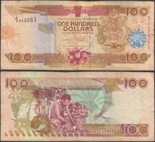 Solomon Islands - 100 dollars Nd (2009) P# 30b Oceania banknote Edelweiss Coins