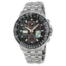 NEW Citizen JY0010-50E Eco-Drive Skyhawk A-T 45mm Case Titanium Watch