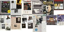 RADIOHEAD : CUTTINGS COLLECTION -adverts clippings-