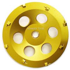 "7� Quarter Round Pcd Grinding Cup Wheel 8 Segments - 7/8""-5/8"" Arbor"