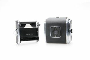 Hasselblad A12 V-Button Roll Film Back Chrome #657