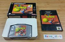 Nintendo 64 N64 Mario Tennis PAL