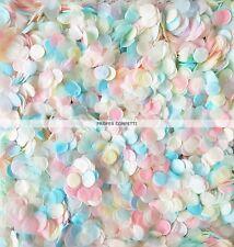 Silver Navy Orange Green Pink Biodegradable Paper WEDDING CONFETTI20 HANDFULS