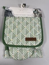 New listing New Eco One Ultimate Bakers Collection Apron Pot Holder Oven Mitt Chef Gift Set