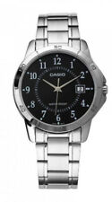 Casio Men's Analog Quartz Stainless Steel Watch MTPV004D-1B