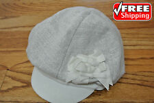 NEW PAMPOLINA Beanie Visored Hat Cap Toddler Baby Size S Small Cotton