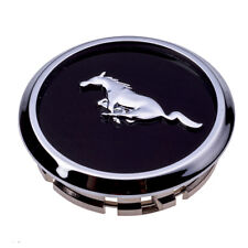 2005-2014 Ford Mustang Wheel Center Cap Black Chrome Pony Emblem OEM BR3Z-1130-B