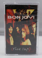 Bon Jovi These Days Vintage 1995 Cassette Rock Sealed Brand New