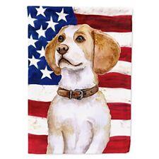 Caroline's Treasures Bb9686Gf Beagle Patriotic Decorative Outdoor Flag, Garden