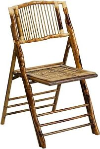 bamboo folding chairs (Maximum Weight:300 Pounds)