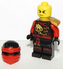 Lego New Ninjago Minifigure Kai Skybound with Gold Scabbard Ninja