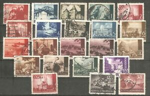NDH (Croatia)  - 1941. Landscape, set, used /15/
