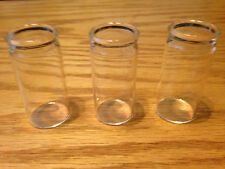 "Blooze Bottle Glass Guitar Slides - Medium 2 1/4"" - MC1 - 3 Pack New"