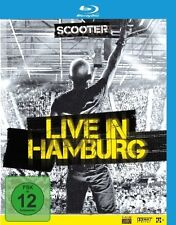 "SCOOTER ""LIVE IN HAMBURG 2010"" BLU RAY NEU"