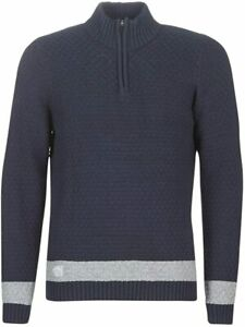 OXBOW Paleny Herren Sweatshirt Pullover, Marineblau, XXL