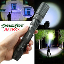 Tactical Light 3-Modes 20000LM Zoomable T6 LED Flashlight 18650 Torch Camp Lamp