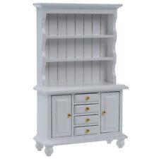 1/12 Dollhouse Miniature Furniture Multifunction Wood Cabinet Bookcase C4P5