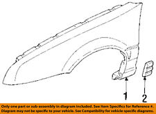 Chevrolet GM OEM 92-96 Beretta Fender-Molding Trim 88959367