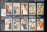 Gallaher Famous Film Stars Card Collection