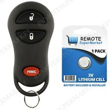 Replacement for Dodge 1999-2002 Ram 1500 2500 3500 Remote Car Key Fob Van
