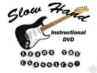 Custom Guitar Lessons, Clapton style - DVD Video
