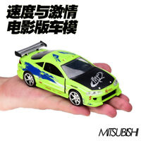 JADA 1:32  Fast And Furious Mitsubishi Eclipse Diecast Car Model Toy