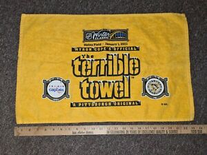 MYRON COPES THE TERRIBLE TOWEL 2011 WINTER CLASSIC EDITION PITTSBURGH PENGUINS