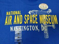 Vintage National Air and Space Museum T-Shirt Sz Medium Smithsonian - NWT