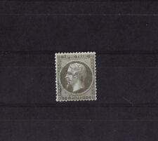 timbre France  Napoléon III  1c olive de 1862    num: 19  oblitéré