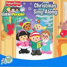 NEW! TWO Christmas Sing-Along CDS - FISHER PRICE [33 SONGS]