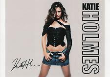KATIE HOLMES Signed 12x8 Photo BATMAN BEGINS AND DAWSONS CREEK COA