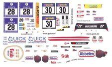 #28 FRIKADELLI Racing Porsche 997 GT3-R 1/32nd Scale Slot Car WATERSLIDE DECALS
