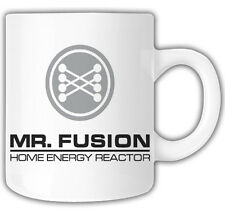 MR FUSION BACK TO THE FUTURE DELOREAN MUG Mr Oilcan Exclusive Design